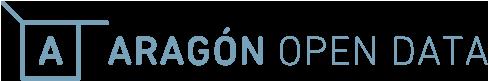 Logo Aragón Open Data con enlace al portal de datos abiertos
